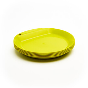 Wildo Camper Plate Flat Set Unicolor 6x, lime